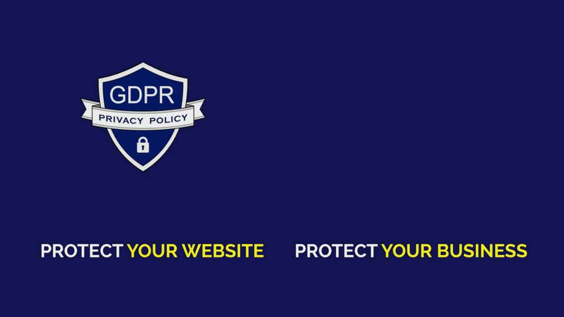 Is Your Website GDPR-compliant GDPR Privacy Policy